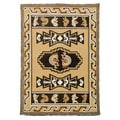 Kingdom Design 144 Kokopelli Berber Area Rug (5' x 7')