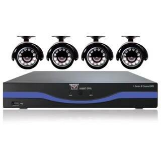 Night Owl 8 Channel 960H DVR with HDMI, 500 GB HDD and 4 x 480 TVL Ca