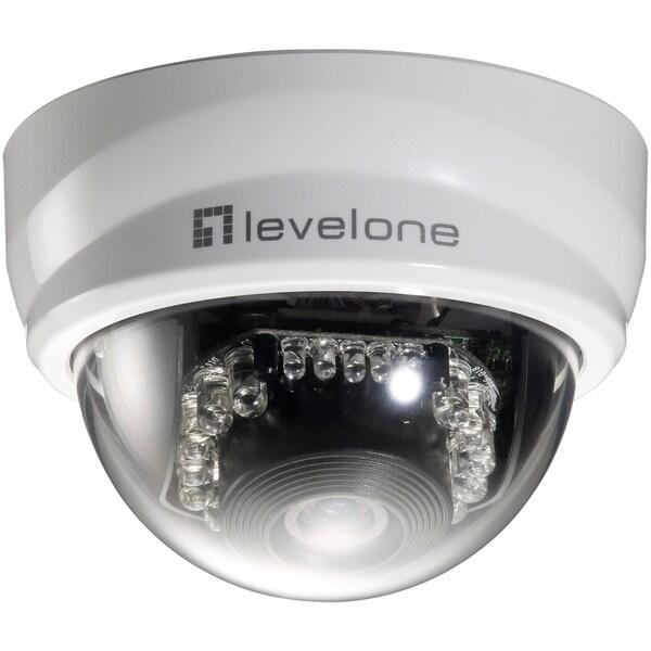 LevelOne H.264 2-Mega Pixel FCS-3101 10/100 Mbps PoE Mini Dome Networ
