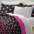 Wild Hearts 7-piece Bed in a Bag with Sheet Set