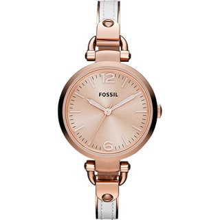 Fossil Women's Georgia Rose-tone Dial Watch