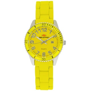 Seapro Women's Rainbow Yellow Watch