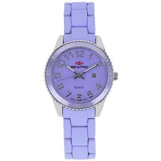 Seapro Women's Rainbow Purple Watch