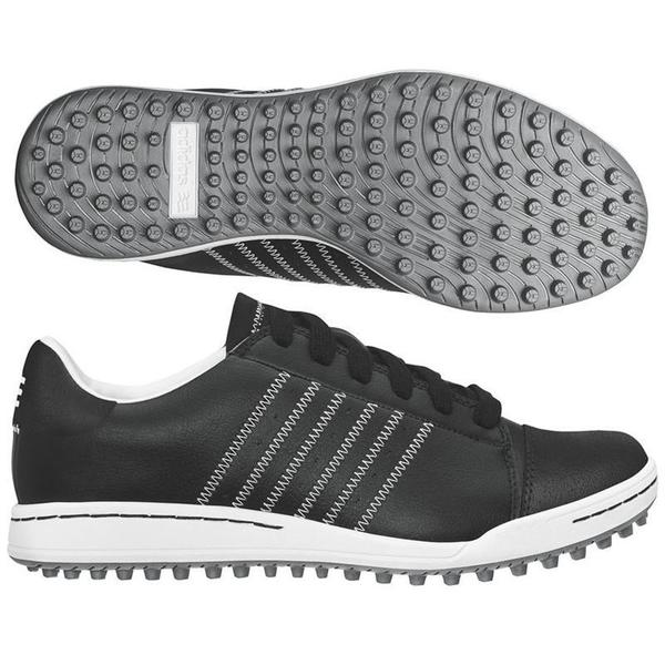 Adidas Jr. Adicross Black/ White Junior Golf Shoes