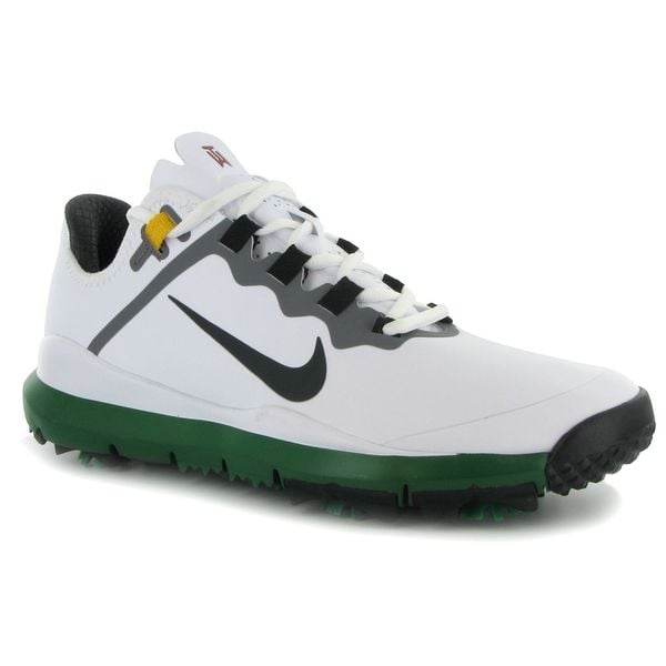 Nike Golf TW '13 Men's Master's Edition White/ Green Golf Shoes