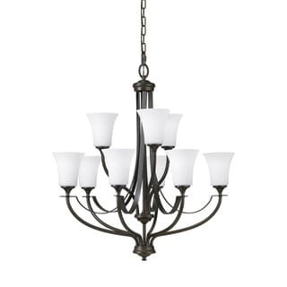 Barrington 9-light Oil Rubbed Bronze Chandelier