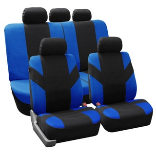 FH Group Blue 'Road Master' Car Seat Covers (Full Set)