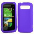 BasAcc Purple Silicone Case for HTC Trophy/ Trophy 7/ Trophy T8686