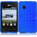 BasAcc Blue TPU Case for LG 840G