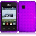 BasAcc Purple TPU Case for LG 840G