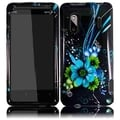 BasAcc Blue Flower for HTC Evo Design 4G/ Hero S Kingdom