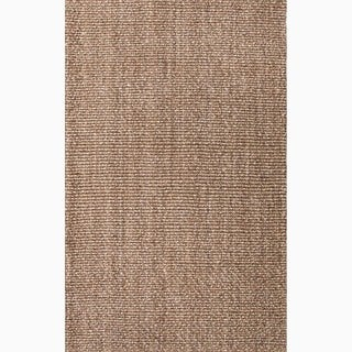 Handmade Taupe/ Tan Jute Natural Area Rug (9' x 12')