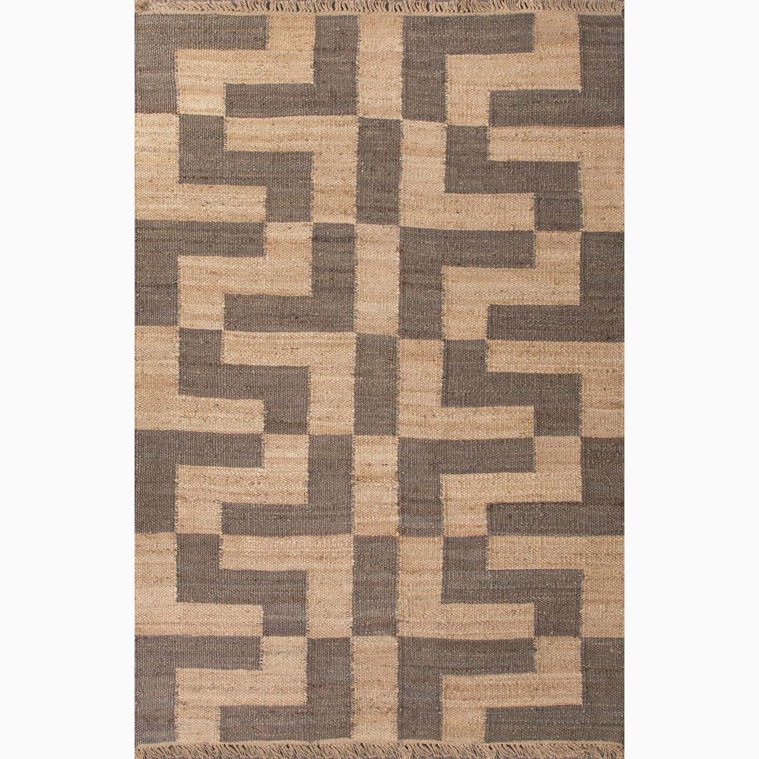 Handmade Taupe/ Gray Hemp Eco-friendly Rug (4 x 6)