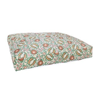 'Garden' Medium Green Dog Bed (India)
