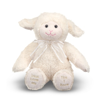 Melissa & Doug Plush Jesus Loves Me Lamb
