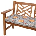 Vintage Citrus 48-inch Indoor/ Outdoor Corded Bench Cushion