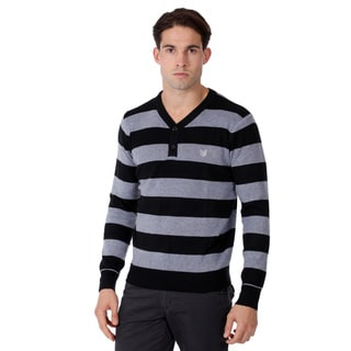 191 Unlimited Men's Striped Sweater