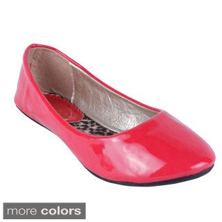 'Sonia-1' Patent Ballet Flats