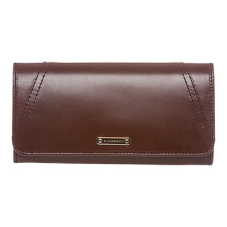 Burberry Bridle Leather Continental Wallet