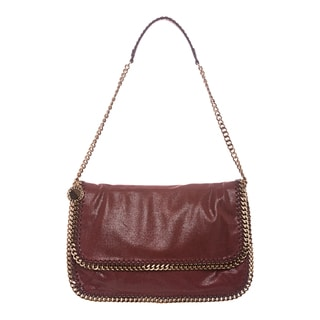 Stella McCartney Brown Falabella Flap Messenger