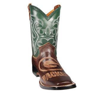 Green Bay Packers Junior Western Boots