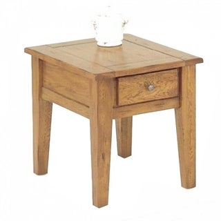 Rustic Traditions Oak End Table
