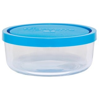 Round 10.25-ounce Storage Bowl with Lids Set