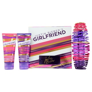 Justin Biebers Girlfriend for Women 3-piece Gift Set