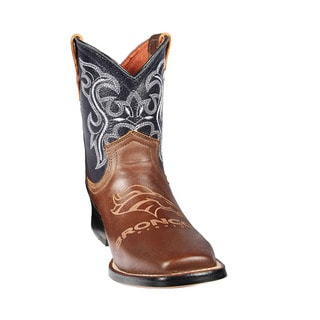 Denver Broncos Junior Western Boots