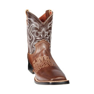 Cleveland Browns Junior Western Boots