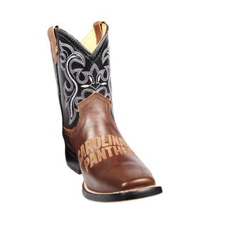 Carolina Panthers Junior Western Boots