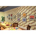 Giggle Pop by Gary Baseman Wall Tile Sheets (Set of 2)