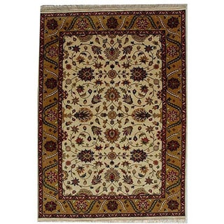 Hand-knotted Oriental Wool Rug (6 'x 9')