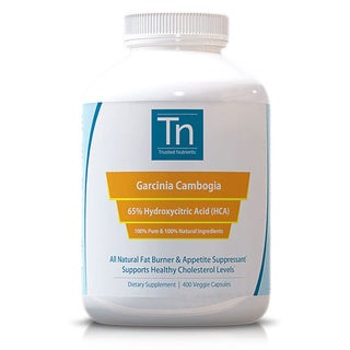 Trusted Nutrients Pure Garcinia Cambogia Extract (400 Capsules)