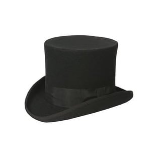 Ferrecci Men's Black Top Hat
