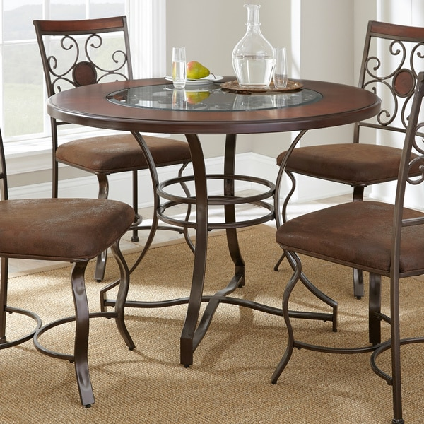 Living Torino 45 Inch Round Dining Table 15851806 Overstock