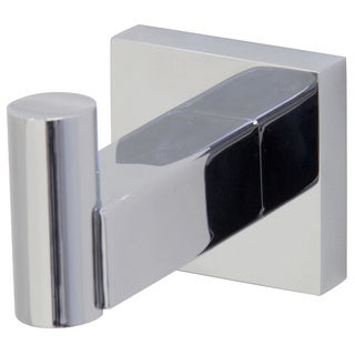 VIGO Allure Chrome Square Design Single Bathroom Hook