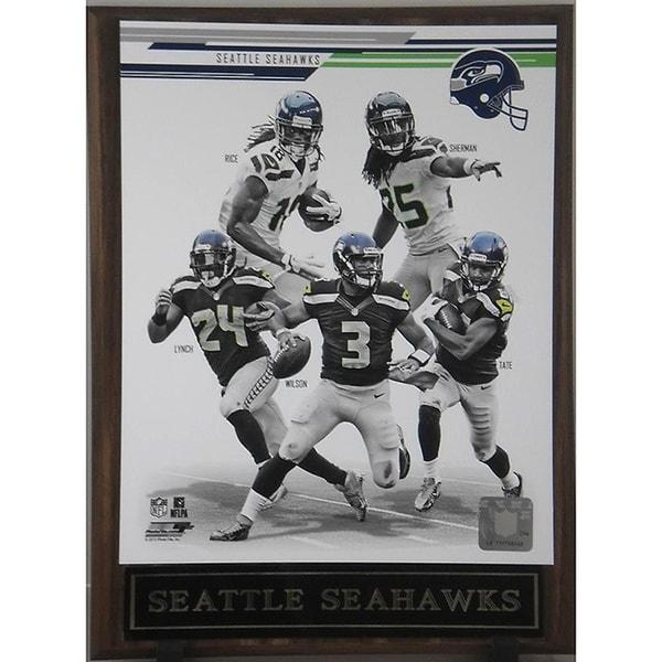 Seattle Seahawks 2013 Plaque