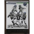 Seattle Seahawks 2013 Plaque