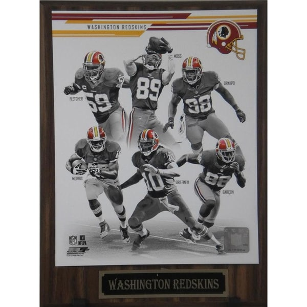 2013 Washington Redskins Plaque