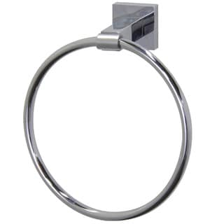 VIGO Allure Chrome Square Hand Towel Ring