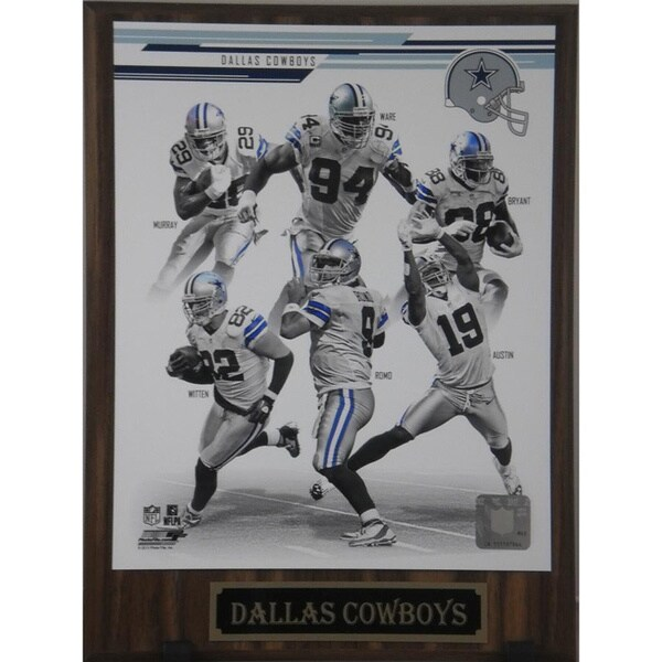 2013 Dallas Cowboys Plaque