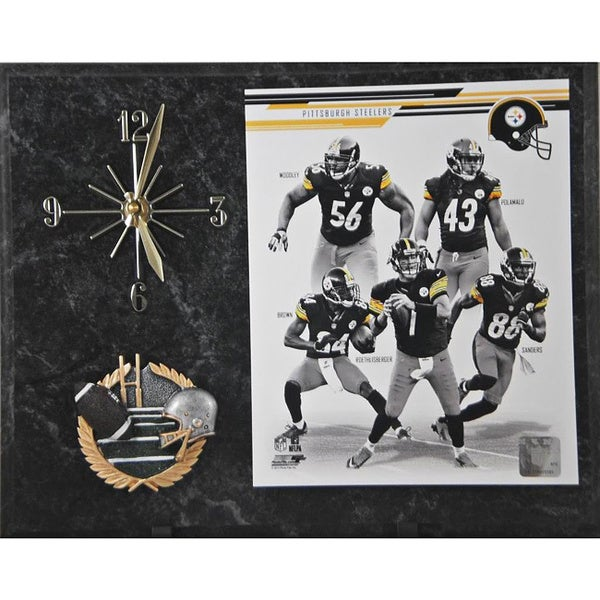 2013 Pittsburgh Steelers Clock