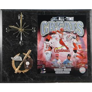 MLB St. Louis Cardinals All Time Greats Clock