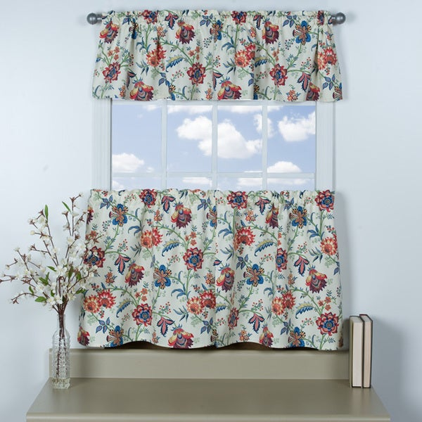 Chelsea Cotton Tier and Valance 3 pc set