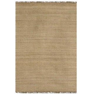 Handwoven Natural Jute Rug (6' x 9')
