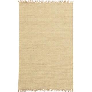 Handwoven Bleached Jute Rug (8' x 10'6)