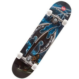 Punisher Skateboards 31-inch Warrior Complete Skateboard