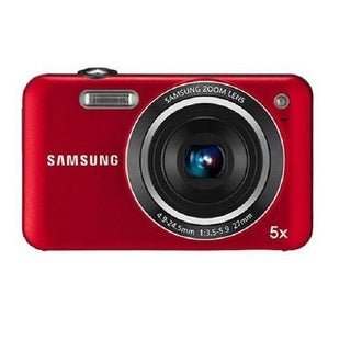 Samsung ST71 14.2MP Red Digital Camera