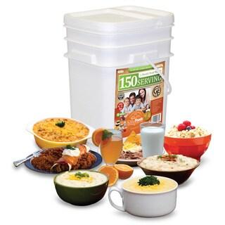 Relief Foods Gluten Free Entree & Breakfast Bucket (150 Servings)